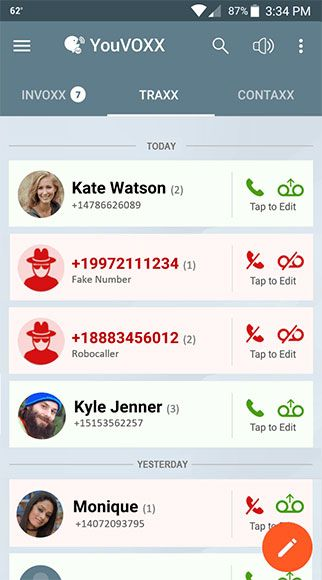 YouVOXX Social Voicemail screenshot